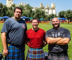Meeting big men while wearing a kilt.  This is why I travel.  My story shows those who think they are too busy to travel how they can travel more - even with a chaotic life like mine.