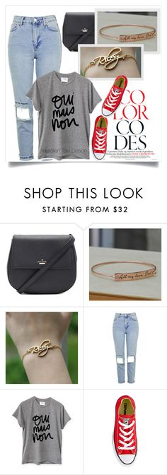 """""""Anatolian Tale Design"""" by amra-mak ❤ liked on Polyvore featuring Kate Spade, Topshop, Sincerely, Jules, Converse and anatoliantaledesin"""