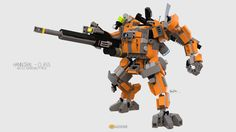 """""""Hannibal Class Mech"""" by clmntin.E: Pimped from Flickr"""