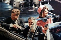 JFK and Jackie just before he was assassinated - 1963