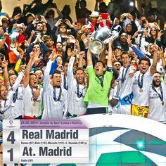 Final UEFA Champions League 2013/2014 Real Madrid La Decima