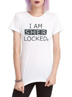Sherlock I Am Sherlocked Girls T-Shirt