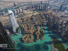 Dubai from above by thisismarysharp1. Please Like http://fb.me/go4photos and Follow @go4fotos Thank You. :-)