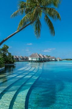 Water Suites at Four Seasons Resort Maldives at Kuda Huraa.