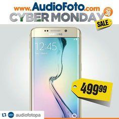 #Repost @audiofotopa  Entra Ya en www.audiofoto.com y descubre increíbles ofertas como esta! #Samsung S6 Edge Doble Cámara Cuatribanda y Liberado #LoQuiero #AudioFoto #CyberMondaySale #Panama