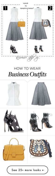 """Work wear"" by komilash on Polyvore featuring Dice Kayek, Alexander Wang, Sergio Rossi, Gianvito Rossi and Tory Burch"