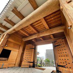 Japanese Buildings, Pergola, Outdoor Structures, Outdoor Pergola
