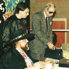 Wolfman Jack, Randy Black and Tommy Jett Wolfman Jack, History, Fictional Characters, Black, Historia, Black People, All Black, Fantasy Characters, History Activities
