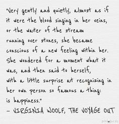 Also makes me want to read Virgina Woolf- haven't read anything of hers yet