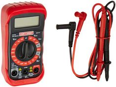 Craftsman 3482141 Digital Multimeter with 8 Functions and 20 Ranges -- To view further for this item, visit the image link. Ryobi Battery, 9 Volt Battery, Electrical Tester, Liquid Crystal Display, Volt Ampere, Cordless Tools, Thing 1, Lead Acid Battery, Tool Kit