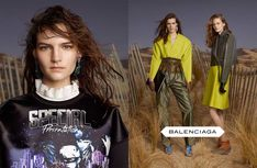 Balenciagas Fall 2012 Campaign Stars All Newcomers by Steven Meisel