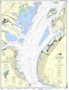 NOAA Nautical Chart 12334: New York Harbor Upper Bay and Narrows-Anchorage Chart