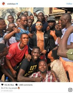 Wizkid Mobbed By Excited Fans As He Lands In Surulere [Photos] http://ift.tt/2z6BxCi