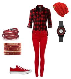 """Untitled #53"" by mary-farrar on Polyvore featuring LE3NO, Paige Denim, Converse, Chan Luu and Sif Jakobs Jewellery"