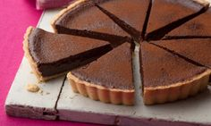 You'll find the ultimate Tyler Florence Salted Chocolate Tart recipe and even more incredible feasts waiting to be devoured right here on Food Network UK. Chocolate Low Carb, Chocolate Deserts, Salted Chocolate, Decadent Chocolate, Vegetarian Chocolate, Chocolate Tarts, Chocolate Custard, Flourless Chocolate, Chocolate Cream