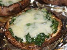 Joe's Crab Shack Copycat Recipes: Spinach Stuffed Mushrooms