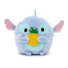 Let sweet little Stitch make a welcome addition to your ohana with our mini Ufufy soft toy! Finished in pretty pastel colours, the little alien holds a 3D pineapple and features a subtle pineapple scent.
