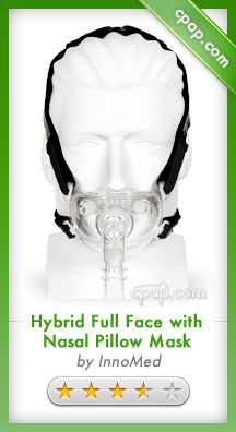 The Hybrid is a unique fusion of technologies, designed to be a universal cpap interface.     This one product serves as a nasal interface, an oral interface, and a combination of the two. Click on the image above for more information!