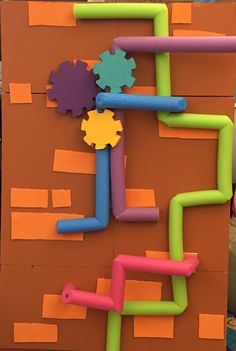 PIPES---There are a thousand & one uses for the pool noodle...here is one more for Maker Fun Factory