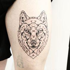 loup jessika tatouage inspirations pinte. Black Bedroom Furniture Sets. Home Design Ideas