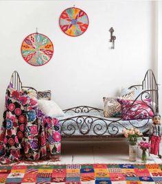 ChicDecó: Estilo ecléctico de destinos exóticosEclectic style from colourful destinations