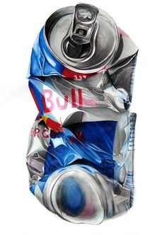 Red Bull crash on Behance Gcse Art Sketchbook, Observational Drawing, Object Drawing, Drawing Tablet, Realistic Paintings, A Level Art, Ap Art, Art Classroom, Art Portfolio