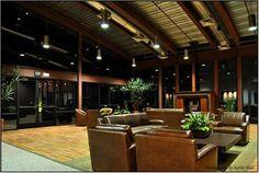 The modern lounge area at Adora Trails.  #Gilbert #Arizona
