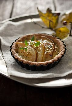Pear and Cheddar Tart