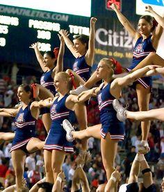 Arizona Wildcats Cheerleaders