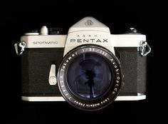pentax: Pentax I still have the version before the spot attic without the inbuilt light meter, great cameras
