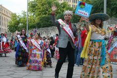Fiesta San Antonio Opening Ceremony - Outside the Alamo..Starts April 10th, 2014 just 30 minutes from Boerne!