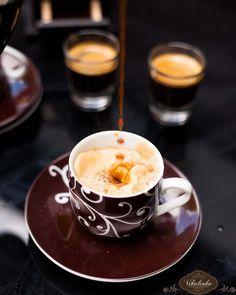 Salted Caramel Affogato #espresso #coffee #saltedcaramel @Julia Frey |{Vikalinka} WOWZA!