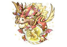 ノエルドラゴンちゃんの光がきたー!!! クリスマスにみなさんへ届くように!!#パズドラ pic.twitter.com/VYhLvTdXkd