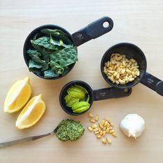 Vegan Kale & Basil Pesto