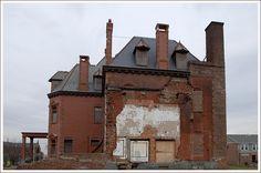 Krueger Scott Mansion, Newark, NJ. Rear view.