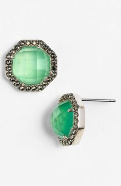 Judith Jack 'Maldives' Stud Earrings