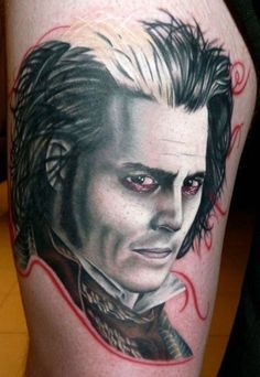 The ivy the o 39 jays and grey on pinterest for Sweeney todd tattoo