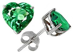 Star K 7mm Heart Simulated Emerald Earrings Studs Sterling Silver Star K http://www.amazon.com/dp/B004HZG9E0/ref=cm_sw_r_pi_dp_30VFub1R4ZGH8