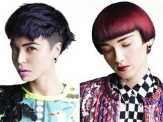 Short hairstyle - 50/50 collection by Toni & Guy #hairstyle #shorthair #ToniandGuy