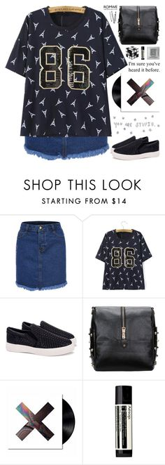 """""""Romwe 8"""" by scarlett-morwenna ❤ liked on Polyvore featuring moda, Aesop, BOBBY, vintage, women's clothing, women's fashion, women, female, woman e misses"""