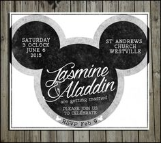 mickey mouse weddings | Mickey Mouse Table Name Display | Fairy Tale ...