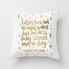Night Owl on White Throw Pillow