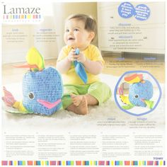 Amazon.com : Lamaze Franky the Hanky Whale : Baby Touch And Feel Toys : Baby