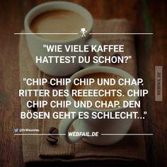 Wie viel Kaffee hattest du schon? - Fun Bild