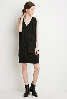 Drapey Shift Dress   Forever 21 Contemporary - 2000142192