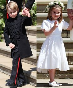 Prince George and Princess Charlotte participate in Prince Harry and Meghan Markle's wedding 19th May.