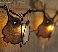Burlap Owl String Lights...Pottery Barn