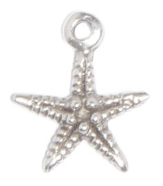 Small Starfish charm for lizzyjames charm bracelets & necklaces