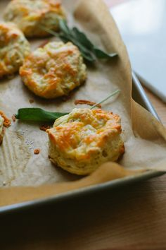 Apple, Sage and Cheddar Biscuits from @Brian Flanagan - A Thought For Food