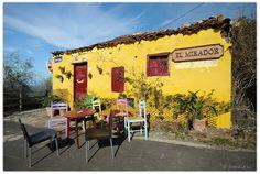 Tenerife-El Mirador- authentiek restaurant in Benijo